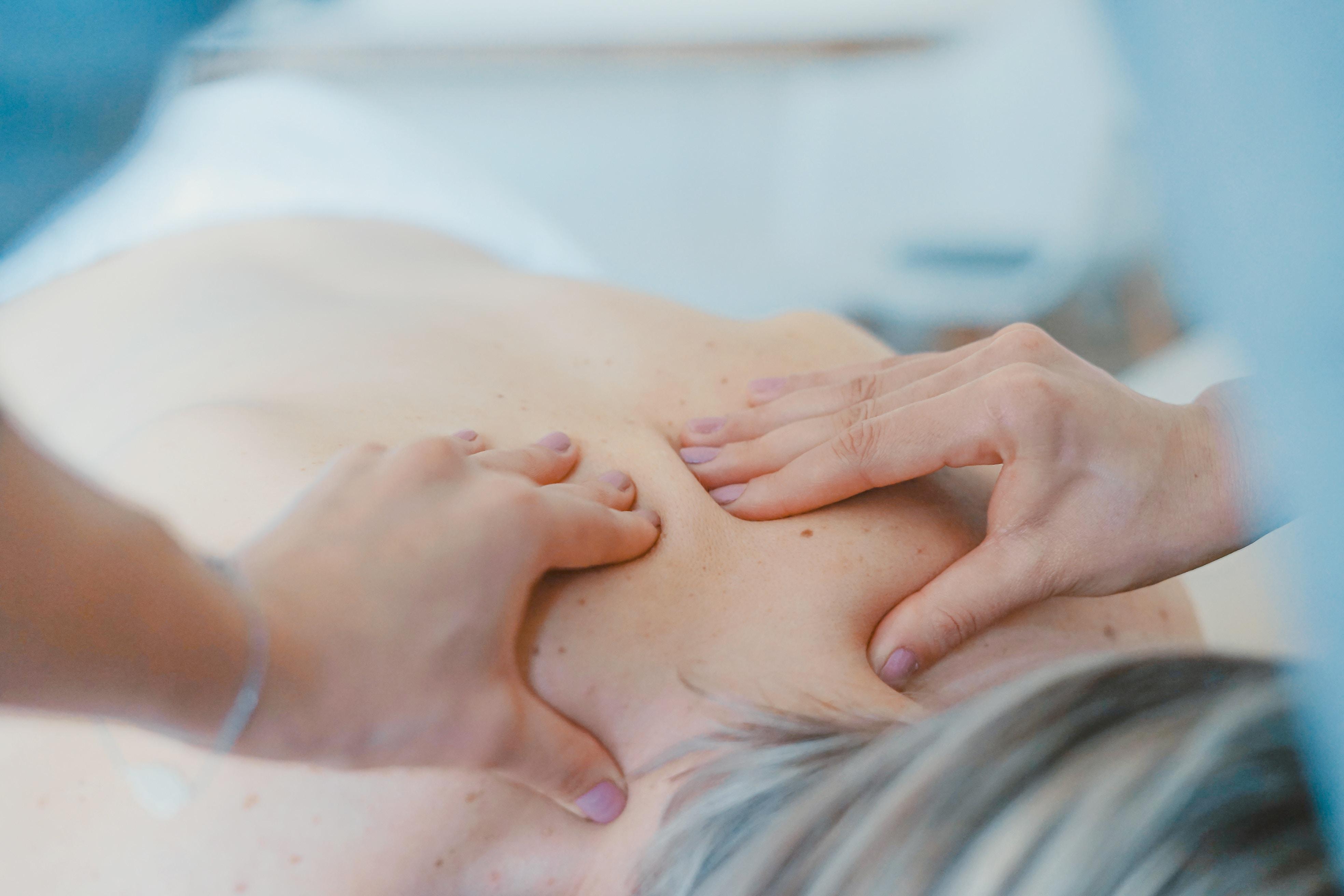 Velgørende massage ved uddannet massør